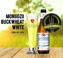 Aspergebier: Mongozo Buckwheat White