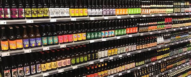 Banner-Supermarkt