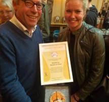 Stichting Geniet & Geef wint Gouden PINT 2017!