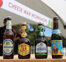 Cheese war bewijst: bier een uitstekende begeleider van kaas