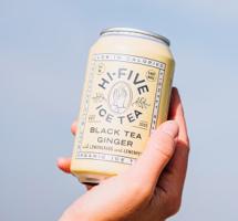 Bier&cO introduceert Hi-Five Ice Tea